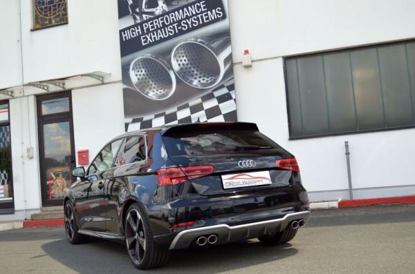 Duplex Sportendschalldämpfer Audi A3 8V 3-Türer Frontantrieb