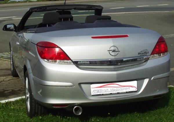 Sportendschalldämpfer Opel Astra H TwinTop