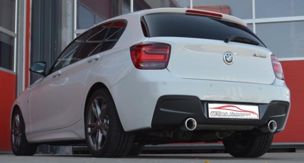 90mm Duplex-Sportendschalldämpfer BMW 1er F20/F21