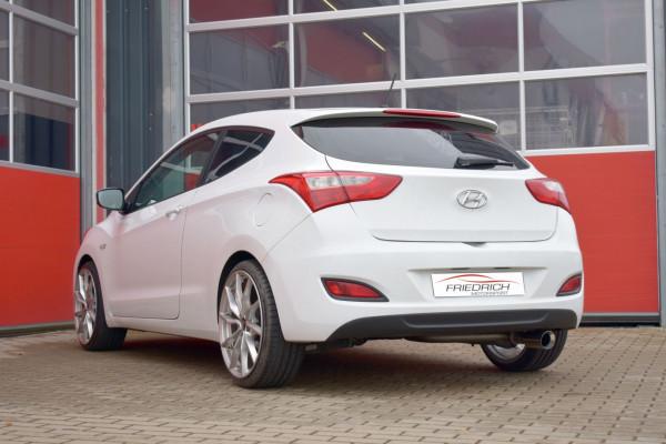 Sportendschalldämpfer Hyundai i30 GDH und Coupe 3-/5-Türer