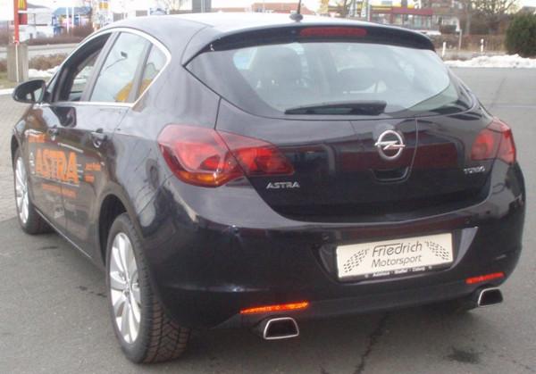 Duplex Sportendschalldämpfer Opel Astra J