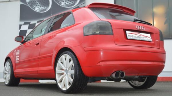 Sportendschalldämpfer Audi A3 8P Frontantrieb