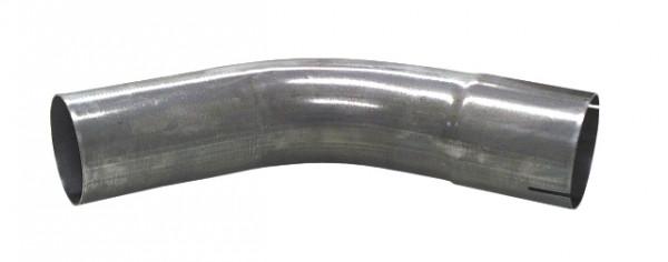 """2.5"""" Rohrbogen 45° aluminierter Stahl"""