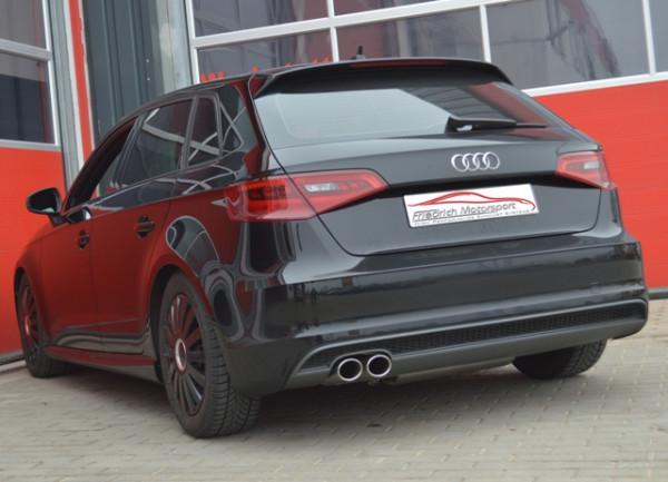 Sportendschalldämpfer Audi A3 8V Sportback Frontantrieb