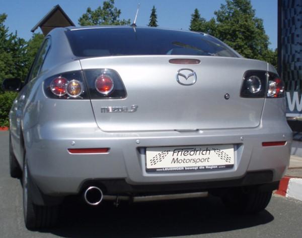 Sportendschalldämpfer Mazda 3 (BK) Stufenheck