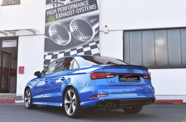 Sportendschalldämpfer Audi A3 8V Limousine Frontantrieb