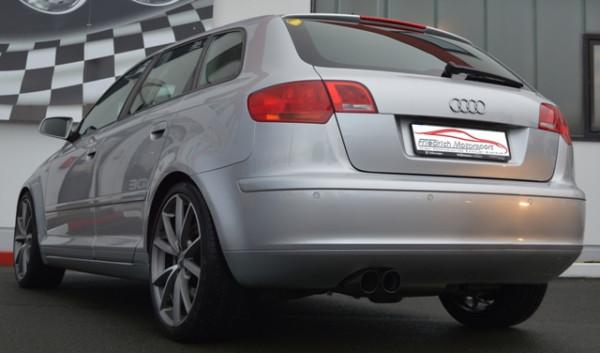 Sportendschalldämpfer Audi A3 8P Sportback
