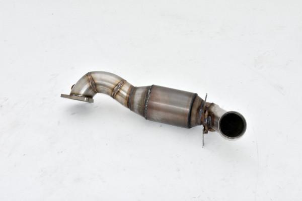 70mm Downpipe mit 200 Zellen Sport-Kat. Edelstahl