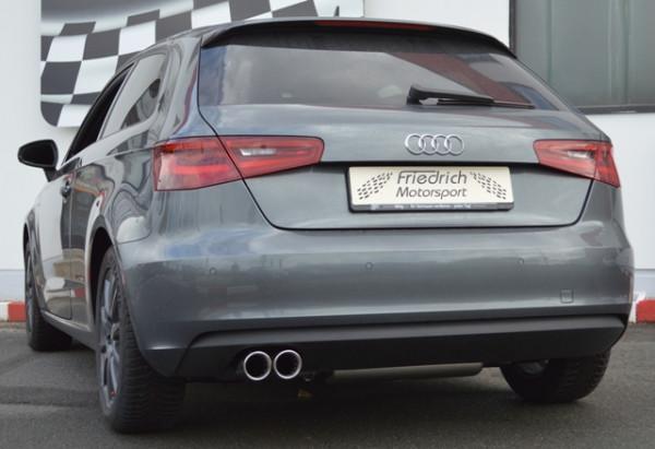 Sportendschalldämpfer Audi A3 8V 3-Türer Frontantrieb