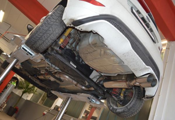 70mm Anlage Ford Fiesta ST JA8 Facelift