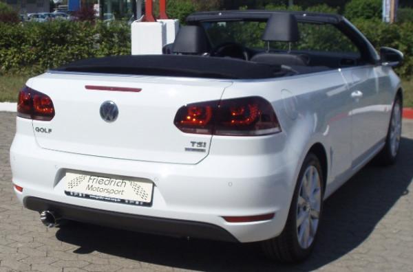 Sportendschalldämpfer VW Golf VI Cabrio
