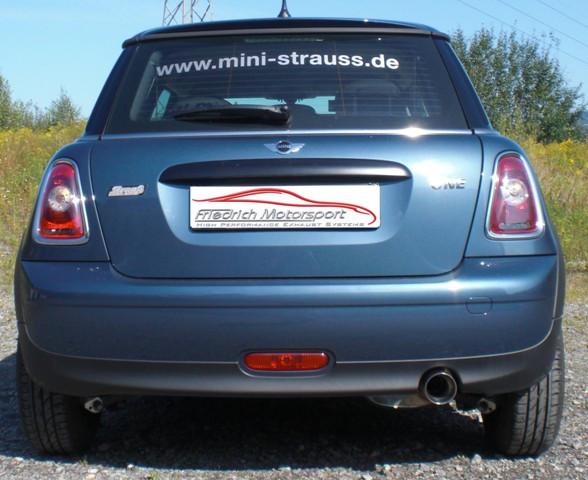 Sportendschalldämpfer Mini R56 One / Cooper / D