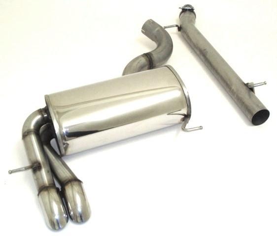 70mm Sportendschalldämpfer VW Golf VI