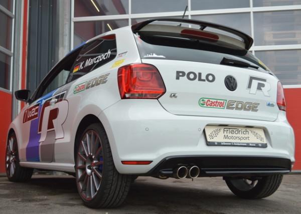 70mm Sportendschalldämpfer VW Polo 6R WRC
