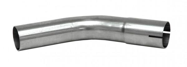 """1 3/4"""" Rohrbogen 45° aluminierter Stahl"""