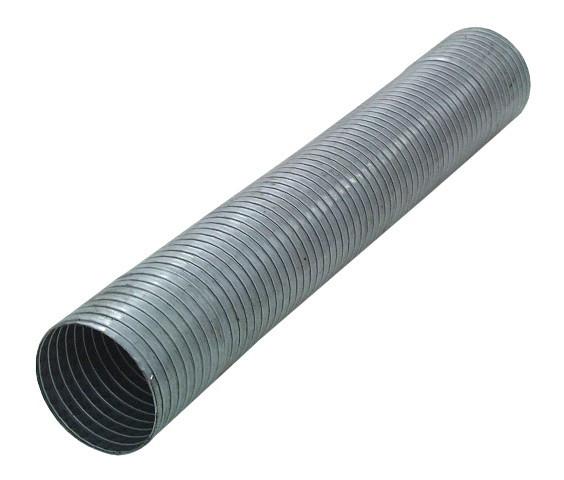 "3"" flexibles Auspuffrohr aluminierter Stahl"