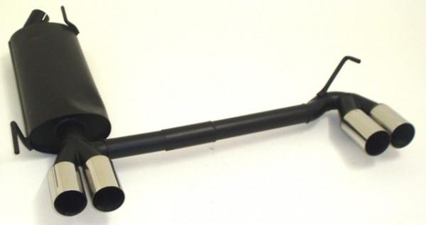 Duplex Sportendschalldämpfer aluminierter Stahl