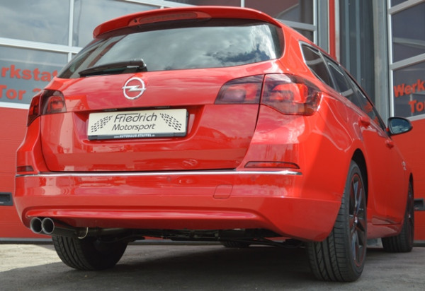 70mm Anlage Opel Astra J Sportstourer