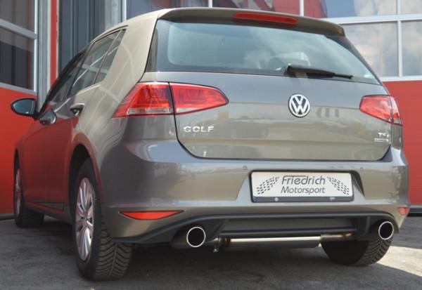 Duplex Sportendschalldämpfer VW Golf VII GTE