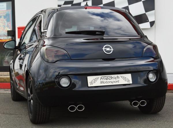 Duplex-Sportendschalldämpfer Opel ADAM