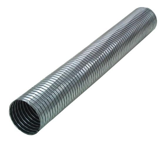 "2.5"" flexibles Auspuffrohr aluminierter Stahl"