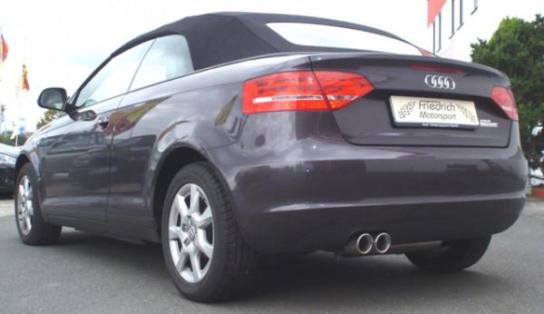 Sportendschalldämpfer Audi A3 8P Cabrio Frontantrieb
