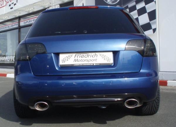 Duplex Sportendschalldämpfer Audi A4 B7 (8EC/8ED/8H) Frontantrieb