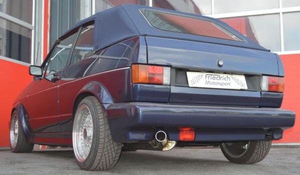 Sportendschalldämpfer VW Golf I Cabrio