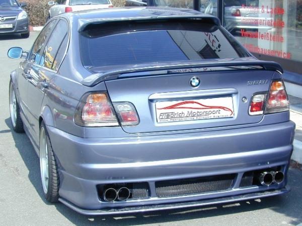 Duplex Sportendschalldämpfer BMW 3er E46