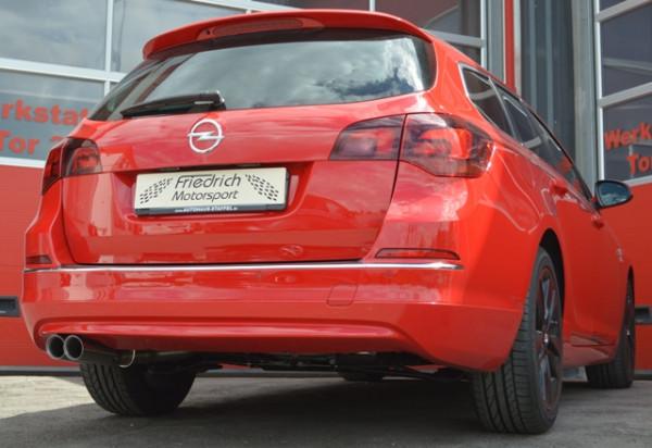 Sportendschalldämpfer Opel Astra J Sportstourer