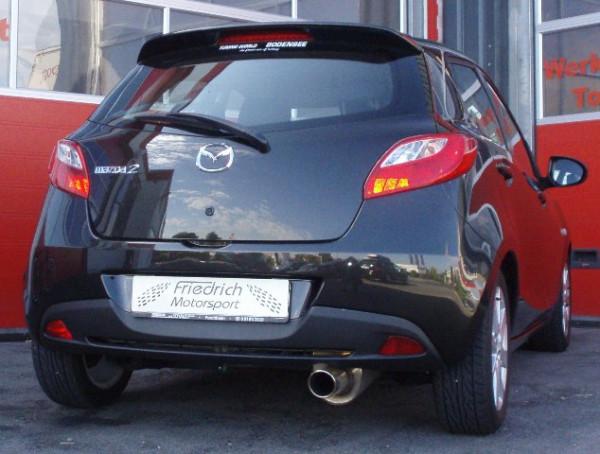 Sportendschalldämpfer Mazda 2 DE/DE1