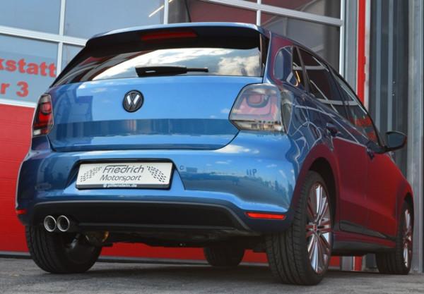 Sportendschalldämpfer VW Polo 6R GT / GTI