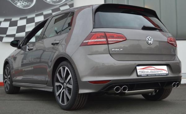 Duplex Sportendschalldämpfer VW Golf VII