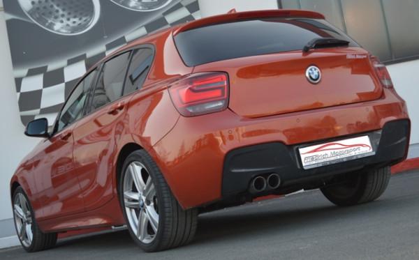 70mm Sportendschalldämpfer BMW 1er F20/F21