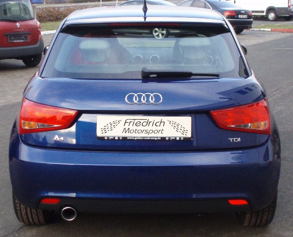 Sportendschalldämpfer Audi A1 und Sportback