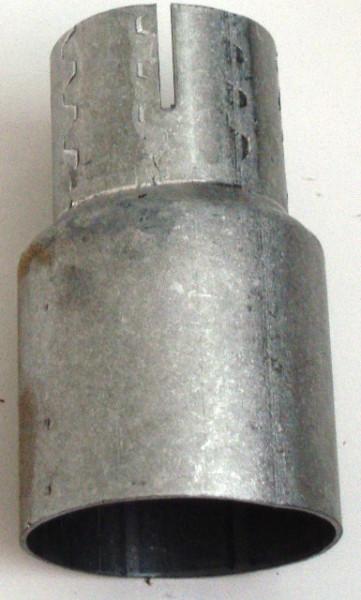 Reduziermuffe 63.5 - 42mm aluminierter Stahl