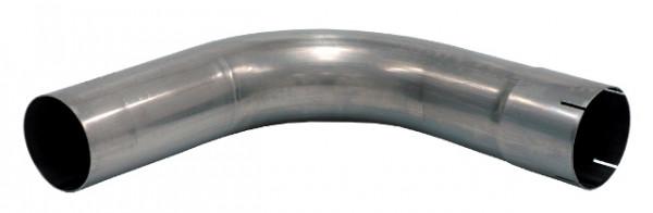 """3.5"""" Rohrbogen 90° aluminierter Stahl"""
