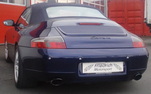 Gr.A Rennsportanlage Porsche 911 Carrera Typ 996