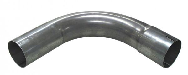 """2.5"""" Rohrbogen 90° aluminierter Stahl"""