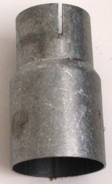 Reduziermuffe 63.5 - 50mm aluminierter Stahl