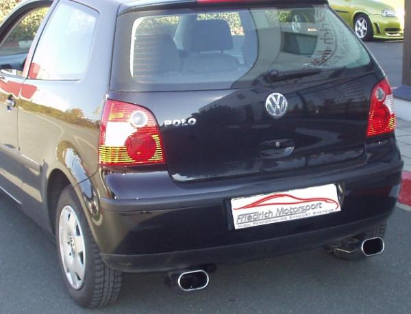 Duplex Sportendschalldämpfer VW Polo 9N / 9N2